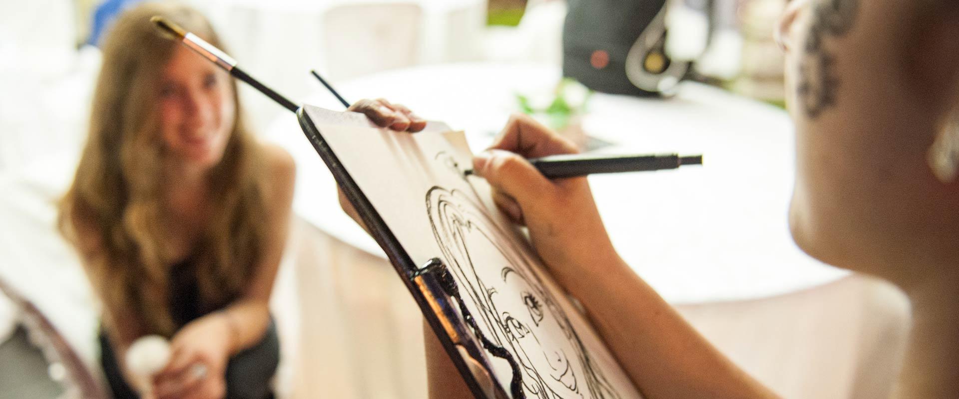 Caricaturista matrimonio a Salerno