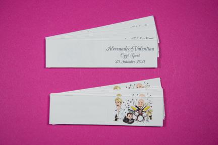 Bigliettini confetti - Cindarella