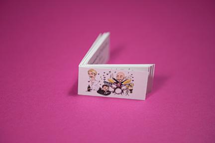 Bigliettini confetti con caricatura cindarella