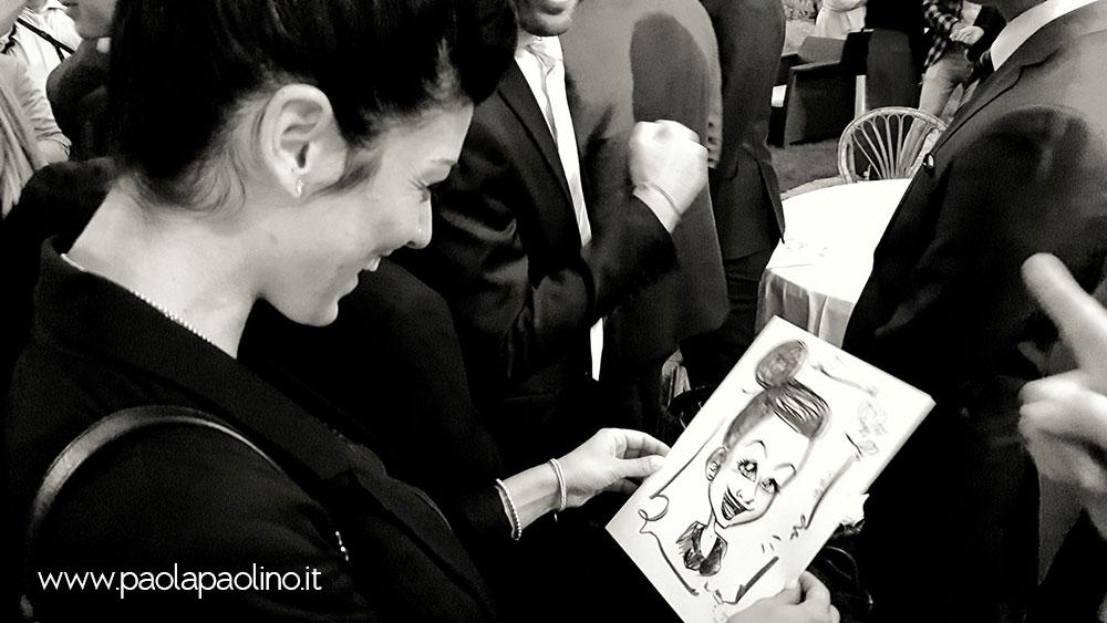 Caricaturista per matrimonio