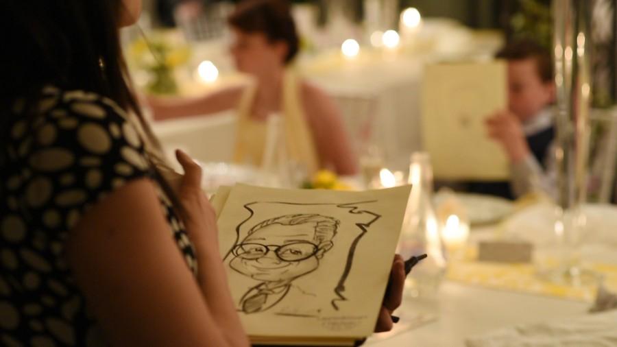 Caricaturista a Ravello