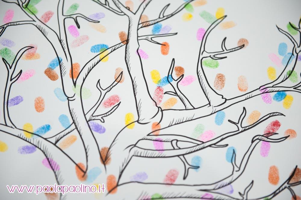 Impronte guestbook albero della vita
