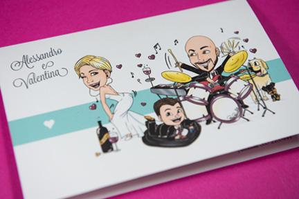 Partecipazioni Matrimonio Caricature.Partecipazioni Con Caricatura Partecipazioni Di Matrimonio