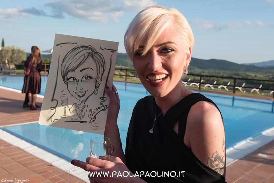 Caricatura donna
