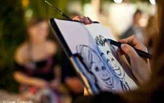 Caricaturista matrimoni roma