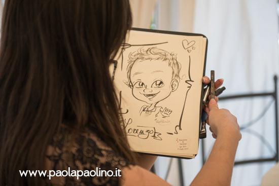 Caricaturista Francesco Forti Ricevimenti a Roma