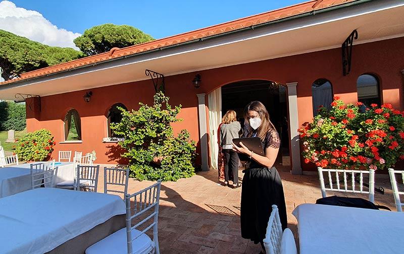 Caricaturista matrimonio a Villa dei Principi di Roma